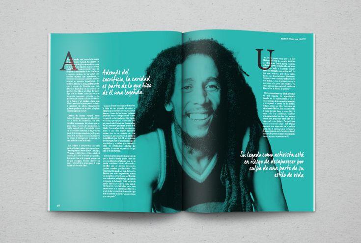 La Revista Fish Bowl es un proyecto académico creado para el taller de Diseño Editorial.