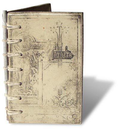 Ceramic Book Cover.