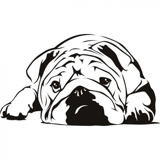 Ms de 25 ideas increbles sobre Arte de bulldog ingls en