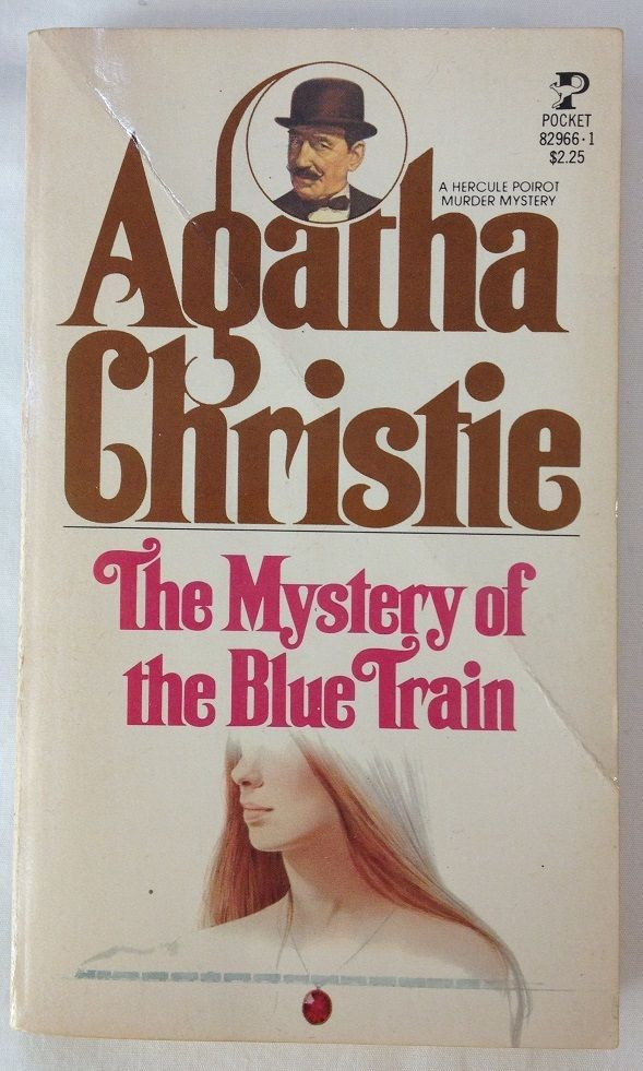 512 best poirot and co images on pinterest agatha christie the mystery of the blue train by agatha christie 1955 paperback fandeluxe PDF