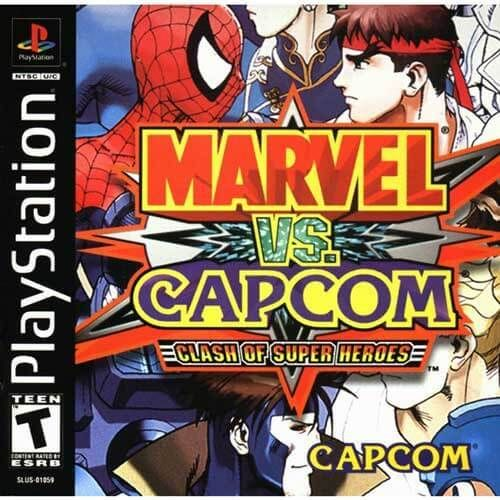 Marvel Vs Capcom Clash Of Super Heroes Ps1 Game Marvel Vs Capcom Marvel Vs Capcom