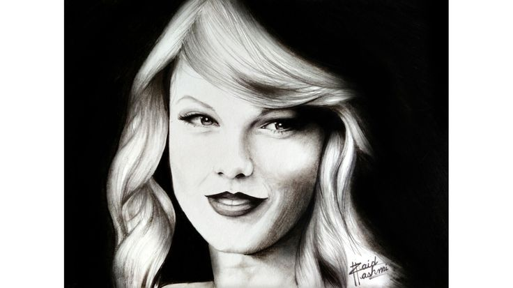Look I sketched #TaylorSwift