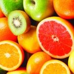 Fruit acids are often used as an ingredient in skin care products.