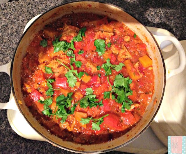 Jamie Oliver's 'Pukka' Jalfrezi - converted for the thermomix