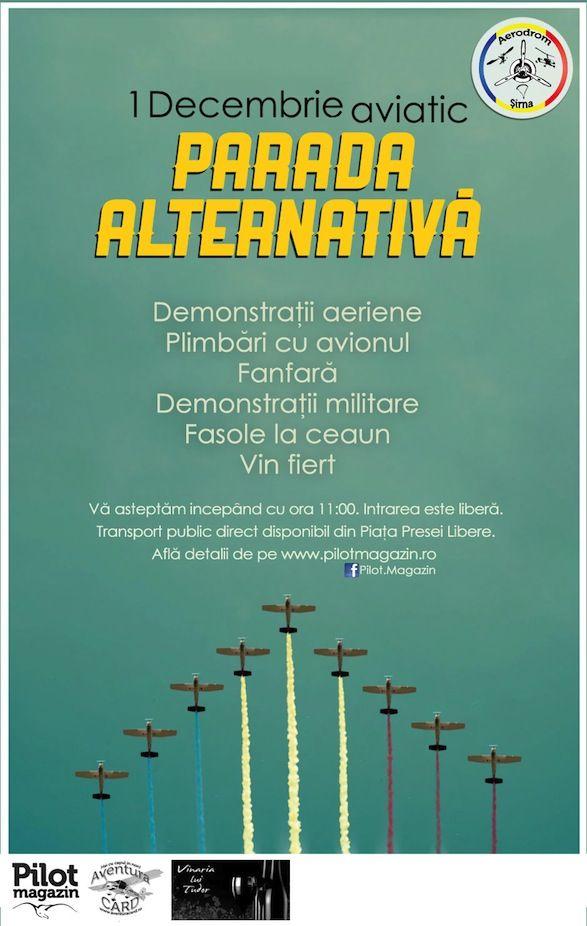 Parada aeriana Alternativa @ Aerodromul Sirna / de 1 Decembrie