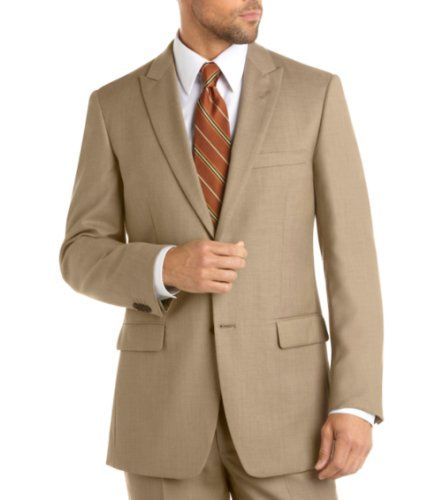 B00DZ7NJAS   Honeystore Men's Flap Front Pants Peak Lapel Two Buttons Four Buttons Vented Sleeves Suits Color Khaki Size Large Honeystore,--- See more at http://www.clothing-brands.commissionblast.com