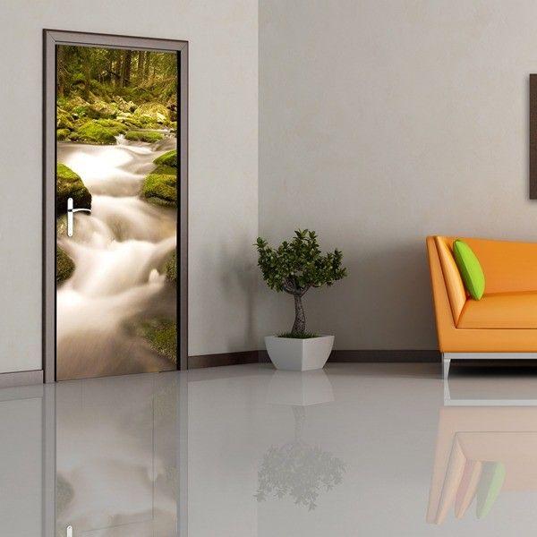 83 best vinilos y murales decorativos images on pinterest - Vinilos para puerta ...