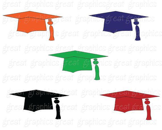 Graduación Clip Art graduación Cap imágenes prediseñadas