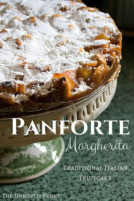 Panforte Margherita - this chewy and delicious traditional Italian fruit cake recipe will change your mind about Christmas fruit cake!