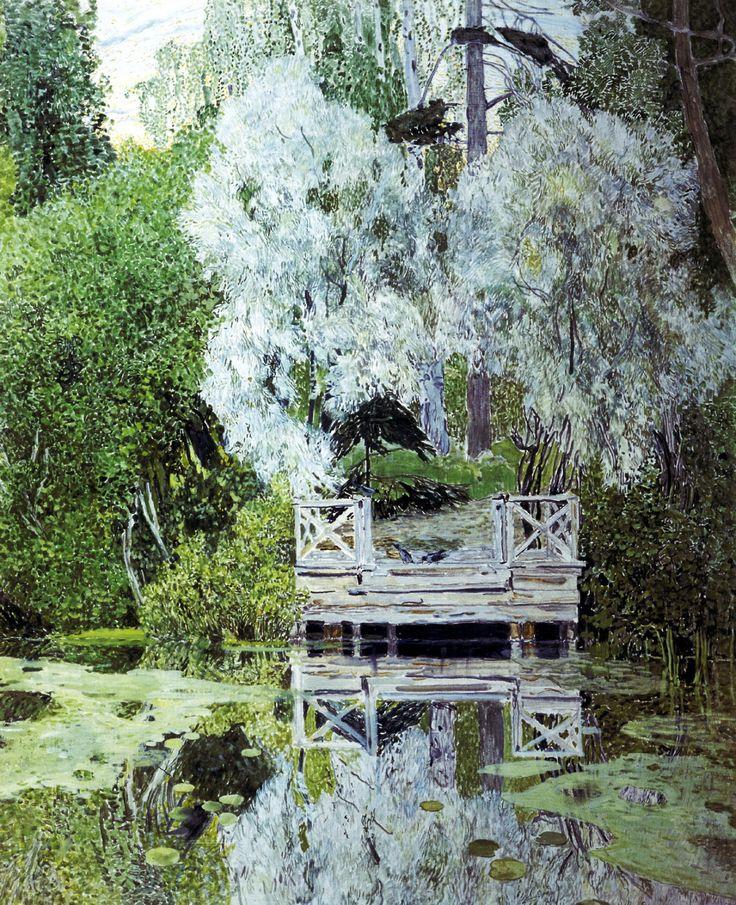 Александр Головин (1863-1930) Серебристые вётлы. 1909