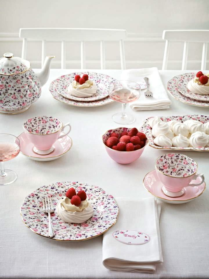 Tea Party with Royal Albert - which I have! Such a cute set