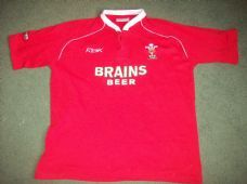 2007 2008 Wales Rugby Union Away Shirt Adults Large