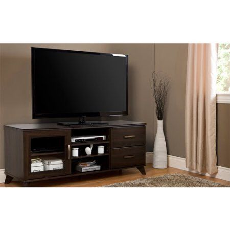 South Shore Caraco Home Entertainment Furniture Collection, Brown