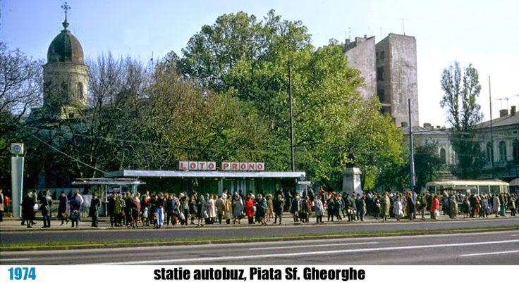 stație de autobuz la Piața Sf. Gheorghe, București - theNow   Trecutul la timpul prezent