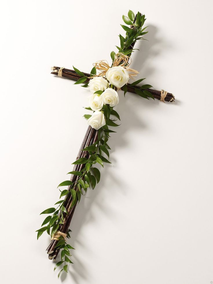 flowers for a cross | Cross With Flowers Contemporary rose cross                                                                                                                                                                                 Mehr