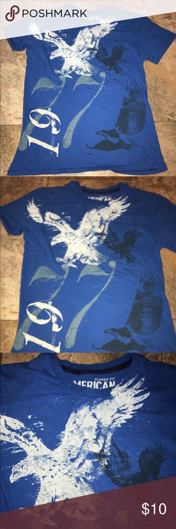 American eagle men's t shirt xsmall EUC American eagle men's t shirt xsmall EUC American Eagle Outfitters Shirts Tees - Short Sleeve