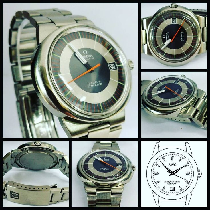 Retro original classic omega automatic Geneve dynamic date. Grey bull's eye dial in stainless. Mint condition circa 1975 #antiquewatchuk #bedynamic #omega #omegawatch #omegamania #omegawatch #omegadynamic ##VintageWatchesOnly #classicwatch ##Vintage...