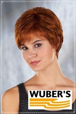 Parrucca Wuber's anche per chemioterapia capelli  in fibra parte alta lavorata a mano monofilamento modello Alessandra