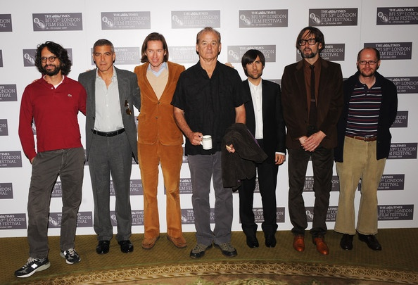 Wes Anderson and the Fantastic Mr. Fox Cast