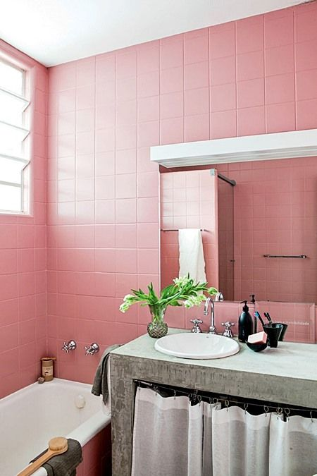 Die besten 25+ Decoração banheiro rosa Ideen auf Pinterest - badezimmer pink
