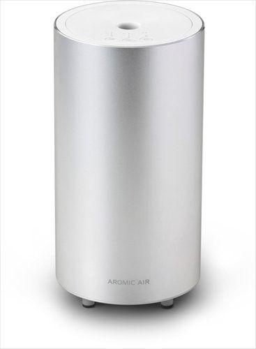 AROMASTAR / 気化式アロマディフューザーアロミック・エアークール シルバー ¥13824 気化式で香りが強く、持続する。広い部屋にも充分使用可能。