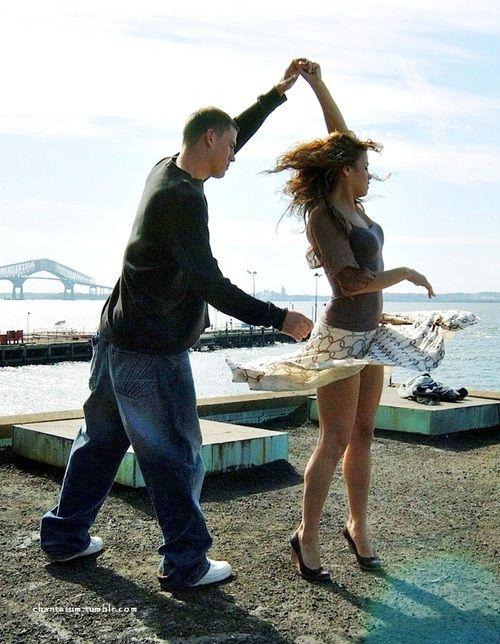 Channing Tatum and Jenna Dewan in Step Up. #dance #favorite #cutestcouple