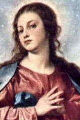 For Feast of Immaculate Conception