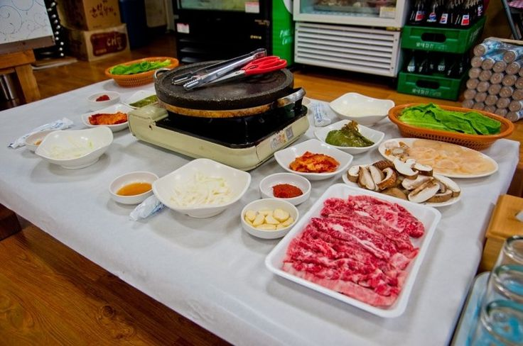 Jangheung has its unique Samhap! It consists of Korean beef, shiitake mushroom and pen shells. All ingredients are produced in Jangheung. It is more famous on a national scale when Korean TV show 'One Day Two Nights' introduced it.