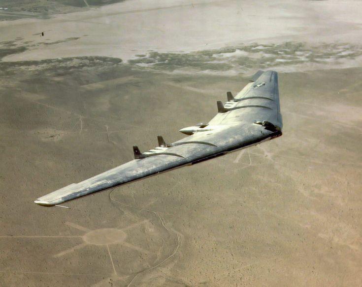 Northrop YB-49 prototype. I believe this picture was taken in 1950.