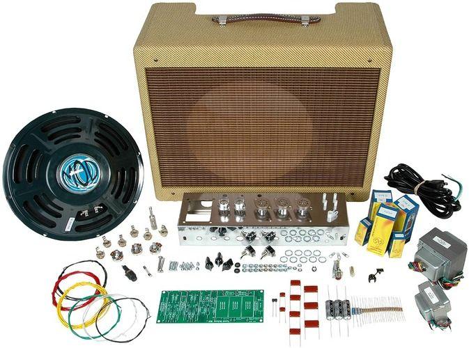 tweed 5e3 vacuum tube amp kit guitars diy guitar amp guitar diy vacuum tube. Black Bedroom Furniture Sets. Home Design Ideas