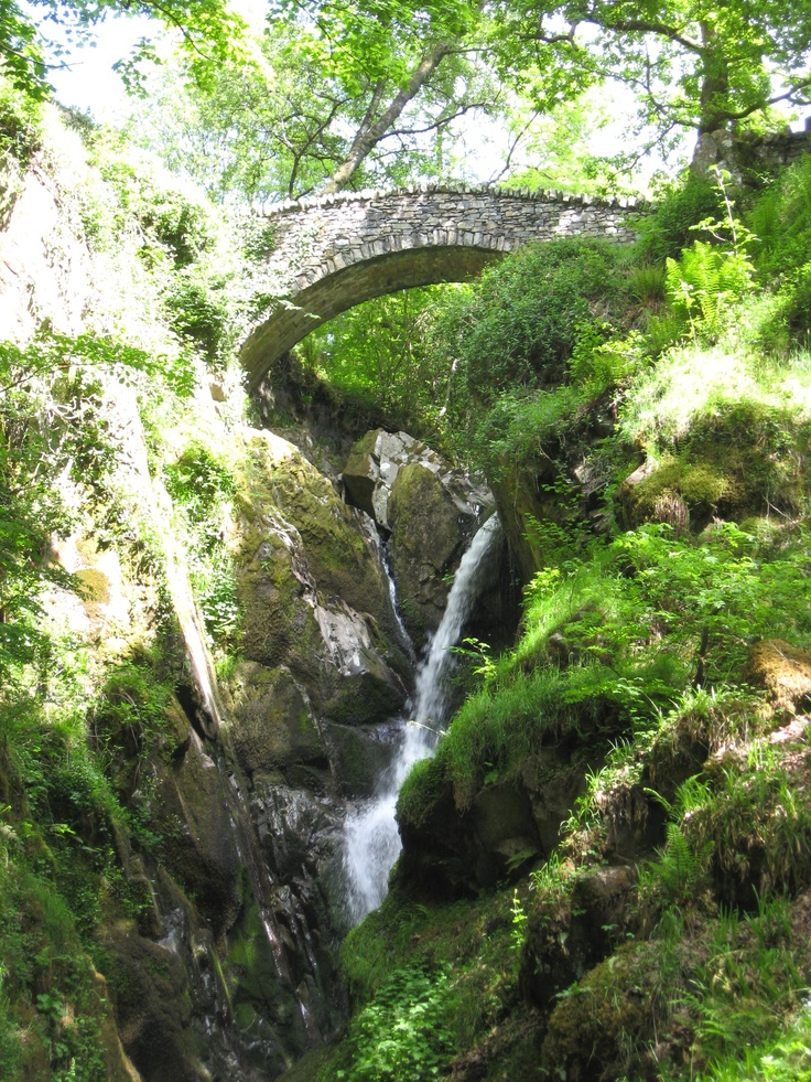 Aira Force, Lake District, England.