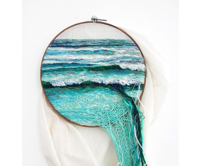 Amazing embroidery! Ana Teresa Barboza http://www.treehugger.com/culture/embroidered-natural-landscapes-ana-teresa-barboza.html