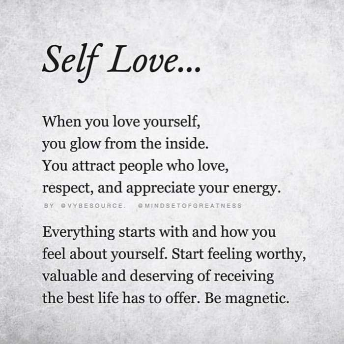 """Self Love Quotes that will make you say, """"I love Myself"""