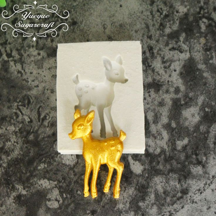 Yueyue Sugarcraft Fawn silicone mold fondant mold cake decorating tools chocolate gumpaste mold on Aliexpress.com | Alibaba Group