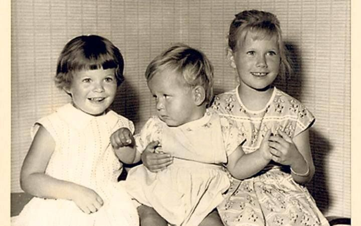 Julian Clary and his sisters