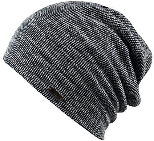 Lorenzo Cana Dicke Damen Kaschmirm/ütze M/ütze 100/% Kaschmir 8 f/ädig Zopfmuster Handgestrickt warm flauschig mit Umschlag 78257