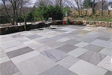 How to Lay a Stone Patio This Old House landscape contractor Roger Cook shows how to work with this durable material