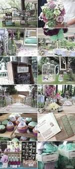 lavender mint rustic wedding