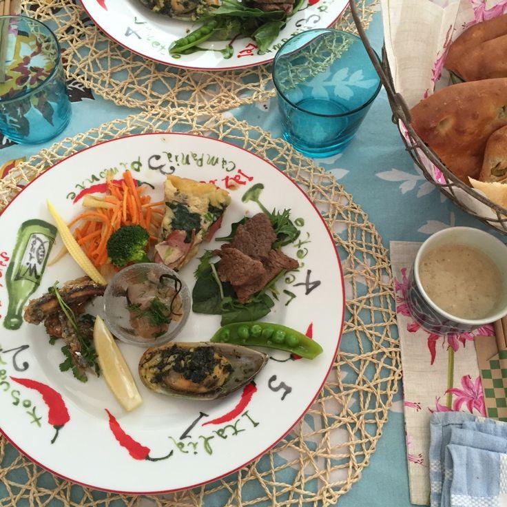 葉山牛、地場産しこいわし、佐島の鯛、三浦野菜