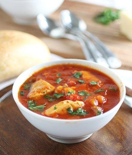 Mediterranean Vegetable & Chicken Stew