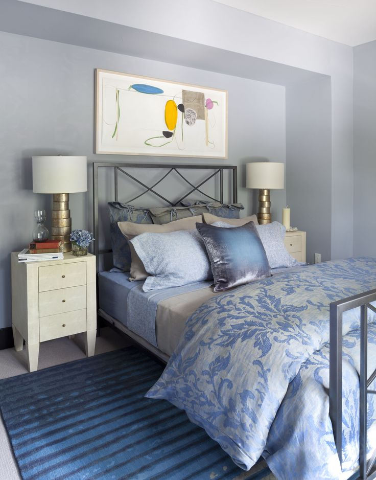 2015 Denver Designer Show House Color Bedroom By The Brass Bed Art Consulting