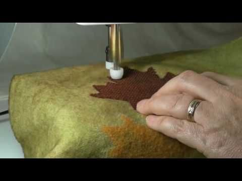 Machine Needle Felting - What's New, What's Possible -by Isabella Hoffmann-utube