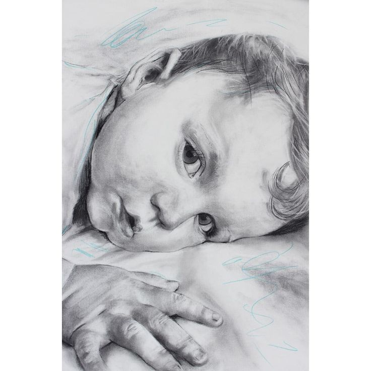 David Fooks - Q&S 60. Finley Charcoal Portrait