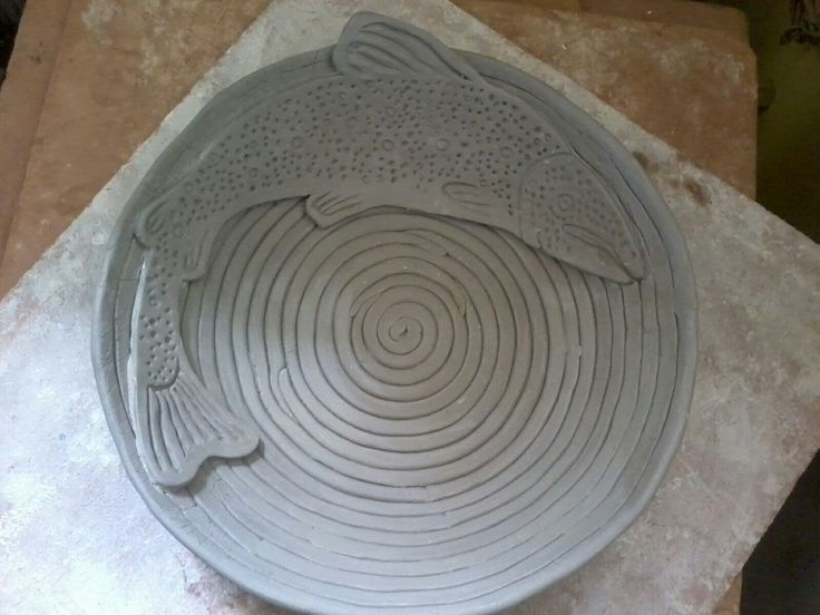 ceramic fish pottery
