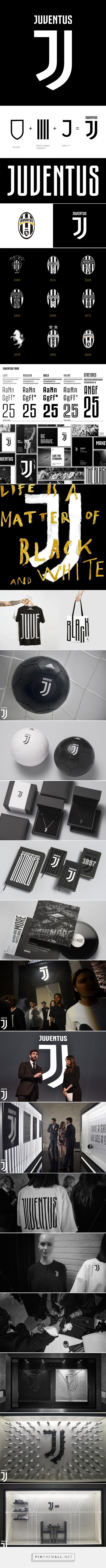 Branding for Juventus Football Club by Interbrand (2017)
