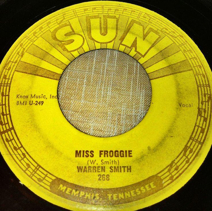 Miss Froggie, Warren Smith, Sun
