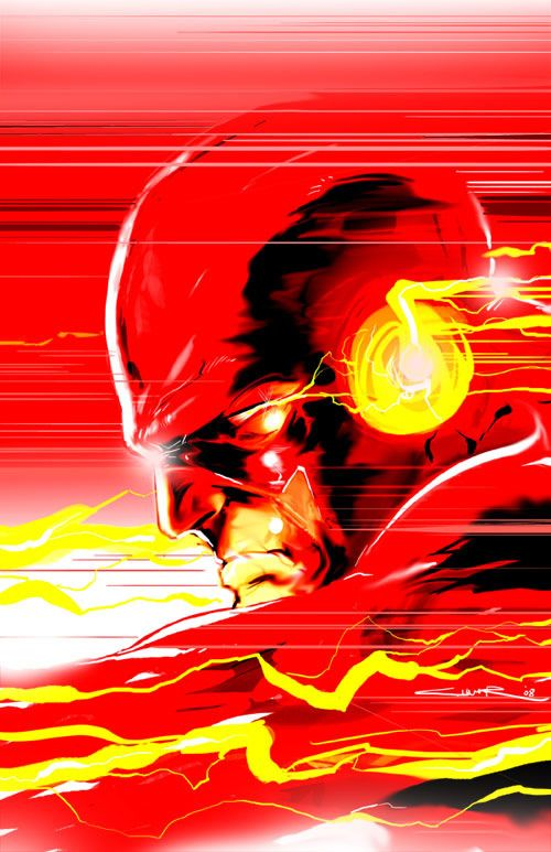Super Cool The Flash Illustrations