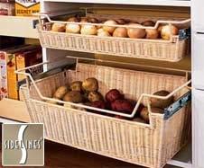 Custom Closet Organizer, Accessories, Baskets, Racks, Shelving for Walk In Closet, Kitchen Pantry, Garage Storage - Tom Ferri's Closet Make-Overs, the finest custom closets in the Pittsburgh area.