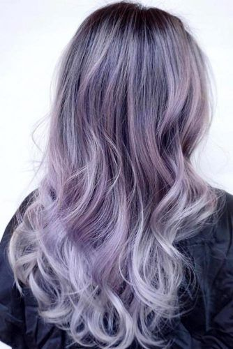Wavy Hairstyles with Pastel Ombre Hair picture5