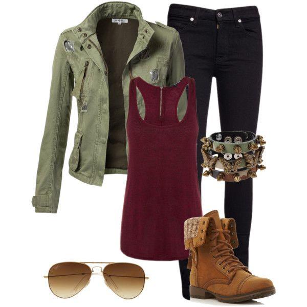 Military fall fashion 2013